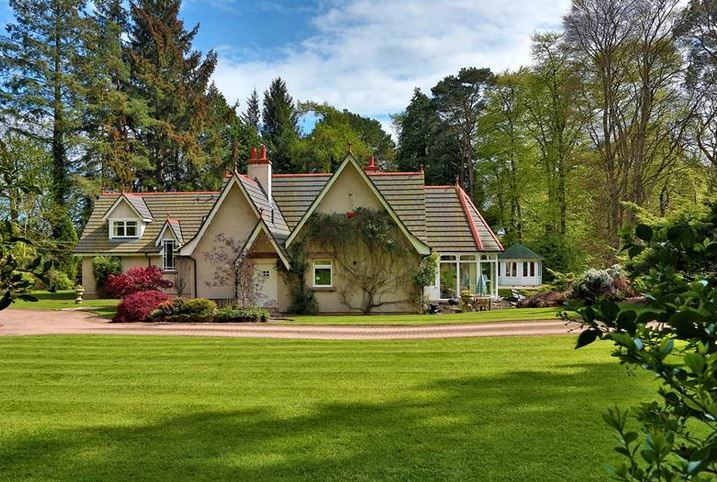 Baylissburn House, Dalmuinzie Road is marketed at £1,850,000