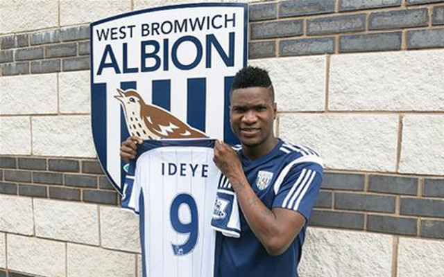 West Brom paid £10million for Ideye but could cut their losses today