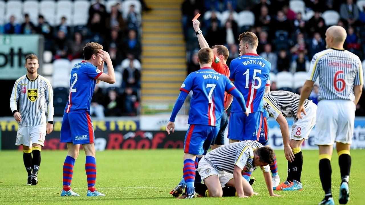 As do Inverness pair Ryan Christie...