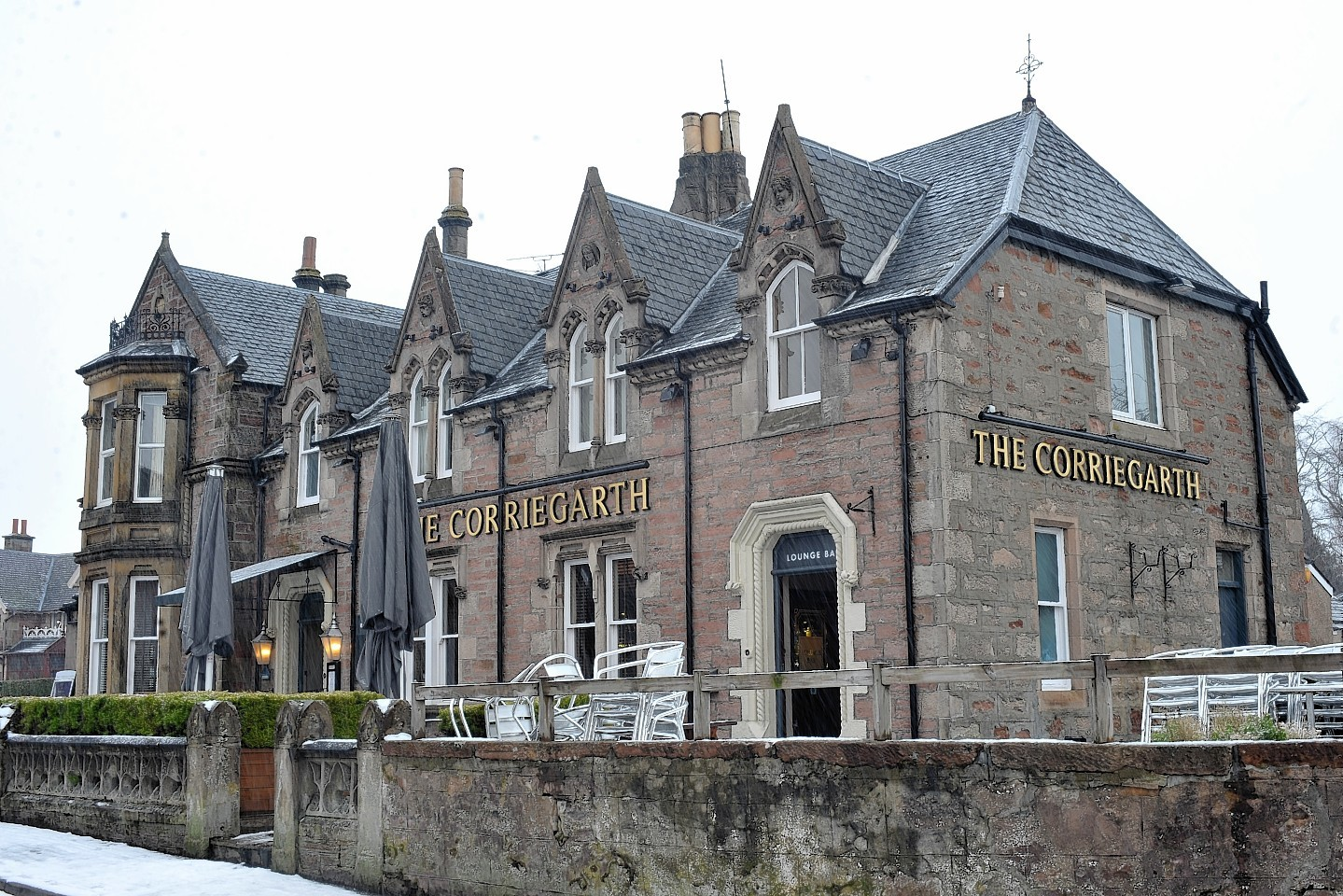 Corriegarth Hotel has been granted an extended license despite objections