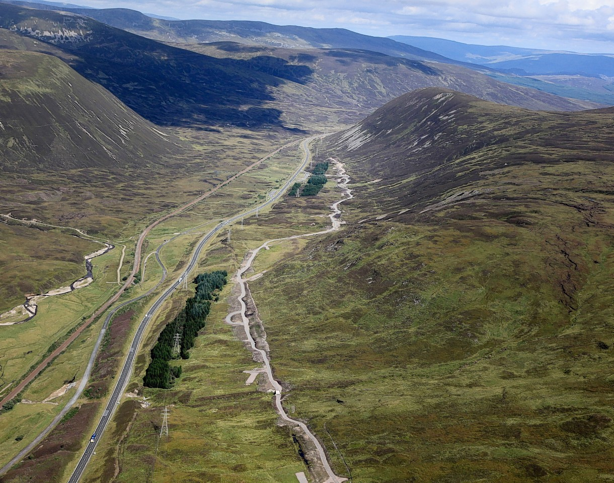 Pass of Drumochter