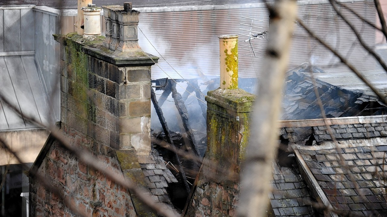 The Eastgate Hostel went on fire in April 2013 and is now set for demolition next month
