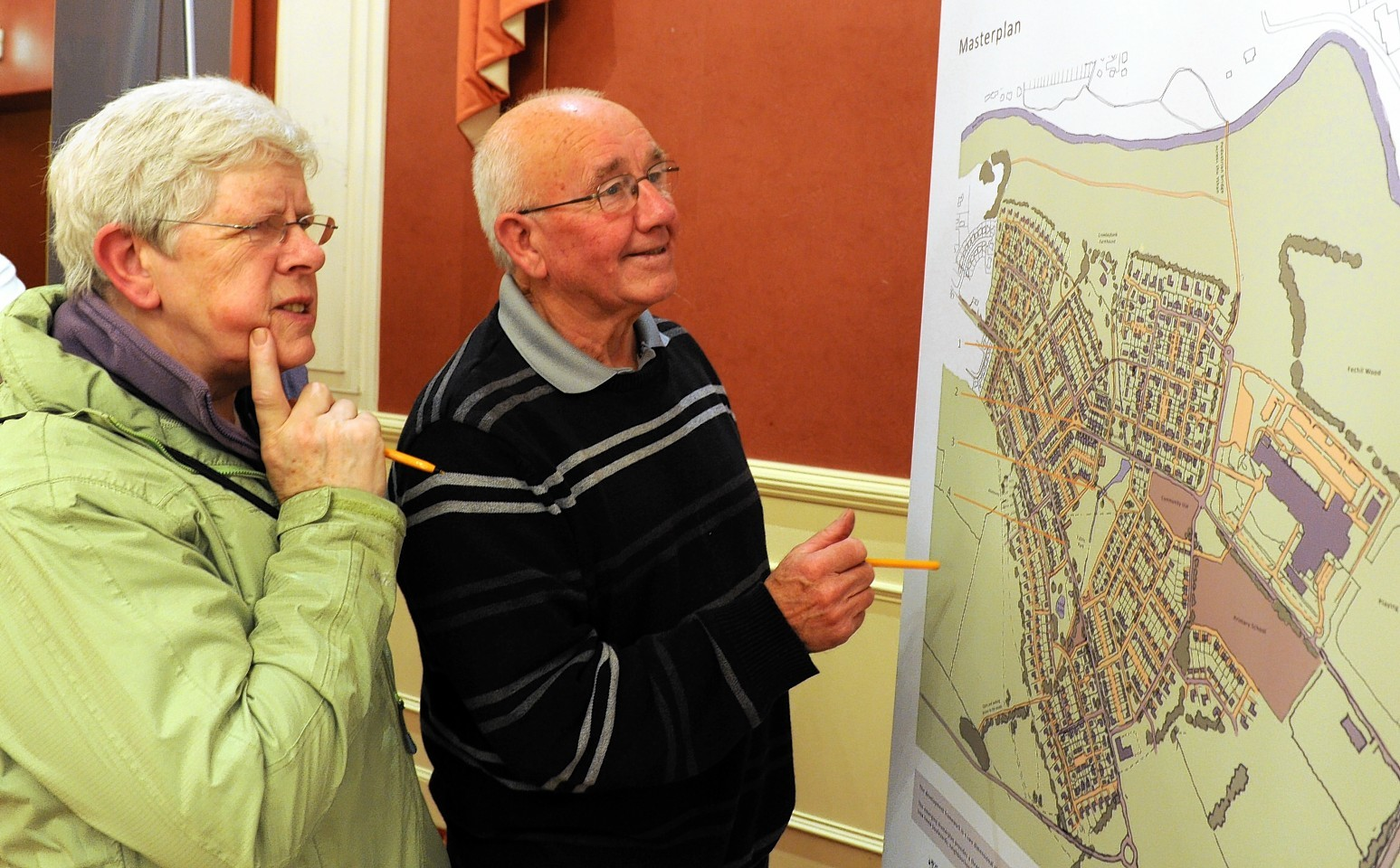 Plans on show for Ellon at the New Inn Hotel