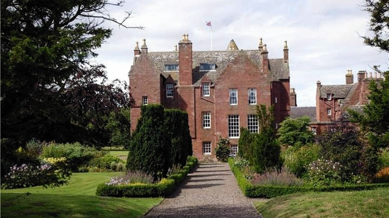 The stunning castle has been valued at £1.65million