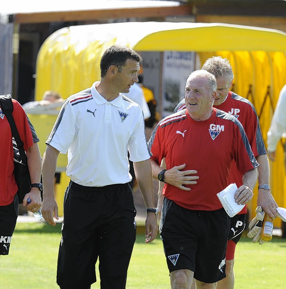 Jim McIntyre managed Dunfermline for more than four years.