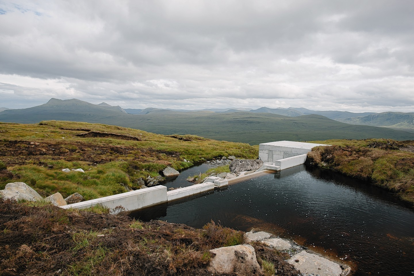 12 hydro schemes in the Highlands will be built or upgraded.