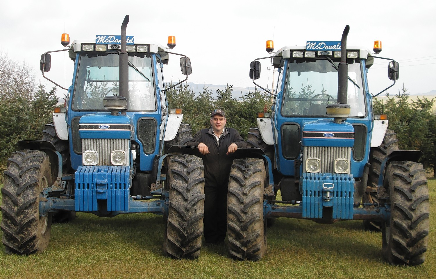 Ian McDonald and friends ploughed continuously for 24 hours