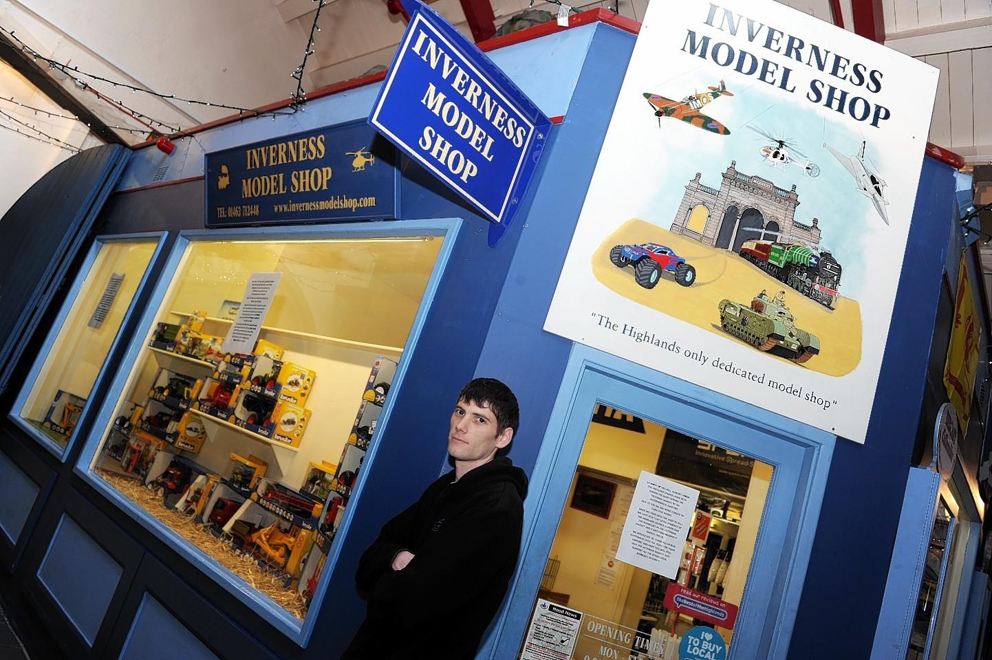 Craig MacDonald of Inverness Model Shop
