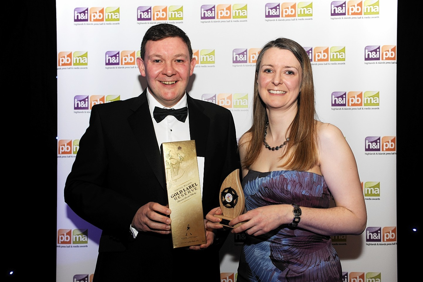 Jane Candlish won the story of the year at the awards for her coverage of controversial armed police in the Highlands
