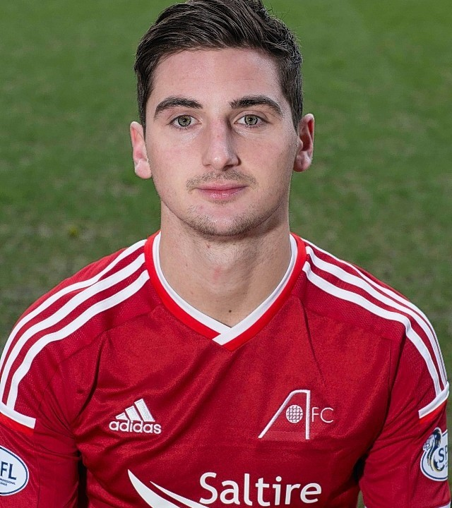 Kenny McLean was officially unveiled as a Dons player yesterday