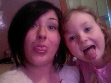 Kerry Stirton with daughter Chloe