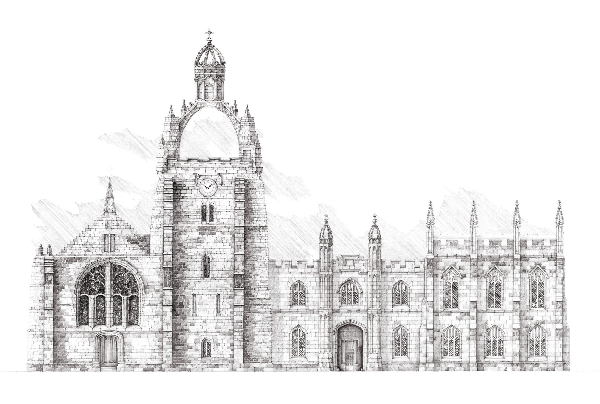 King's College by Jamie Cameron
