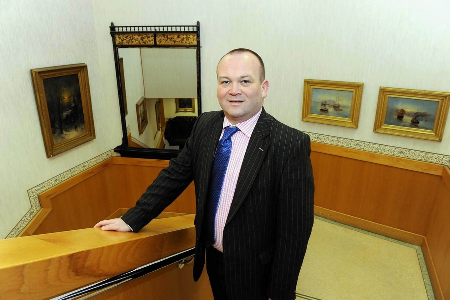 Laurence Findlay of Moray Council
