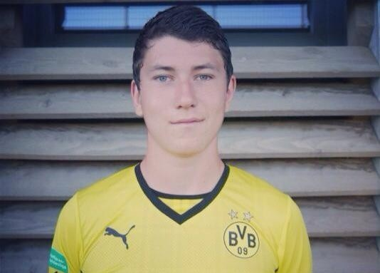 Lukas Culjak joined the Dons from Dortmund