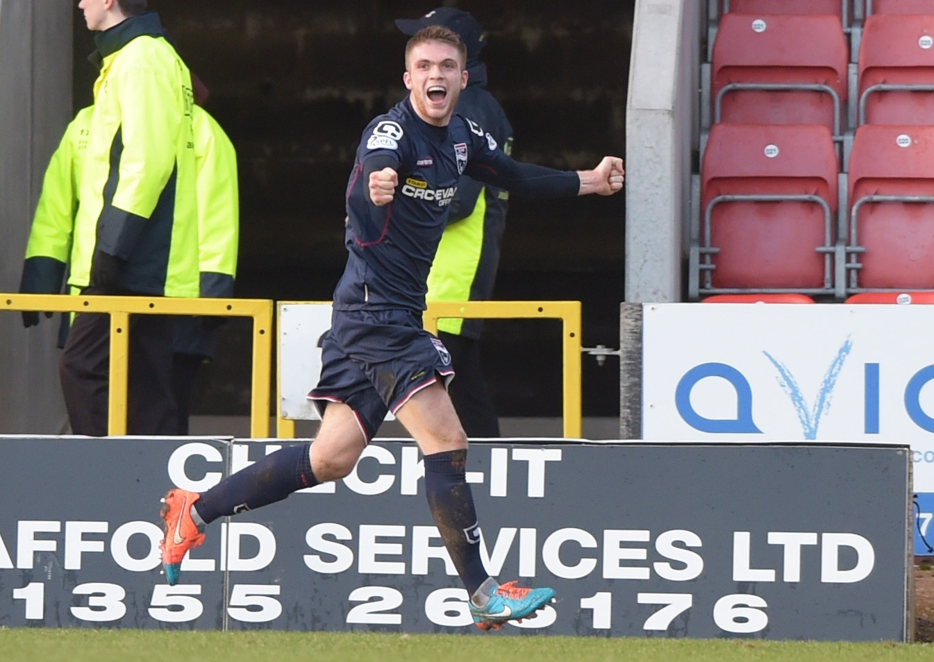 Marcus Fraser has signed a two-year contract extension with Ross County