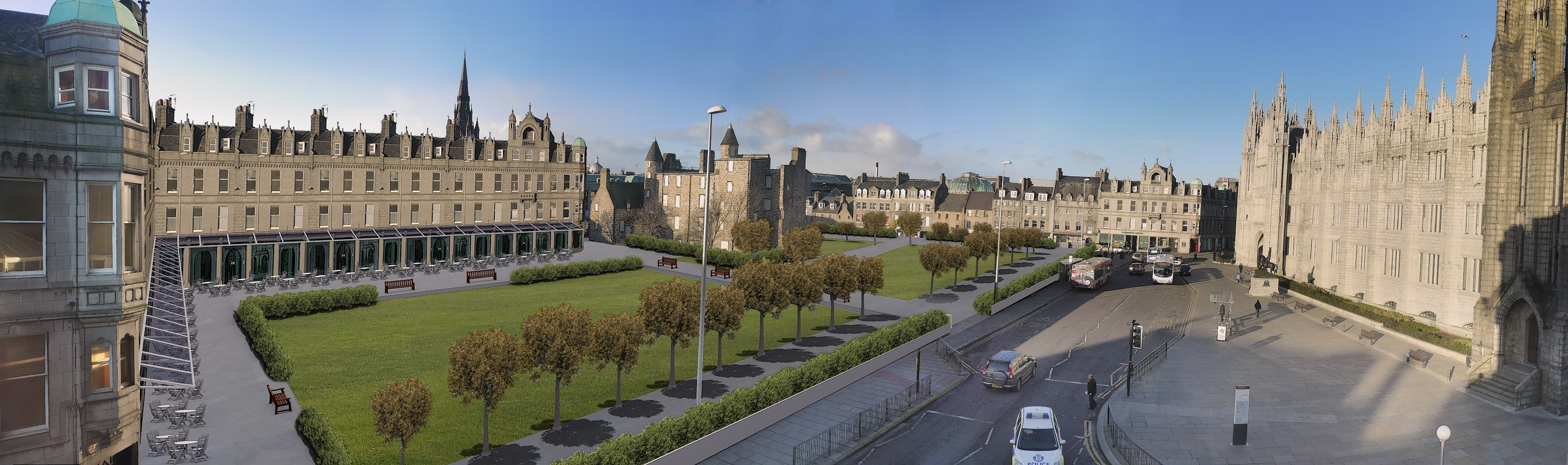 The plans suggested by the Marischal Square protesters
