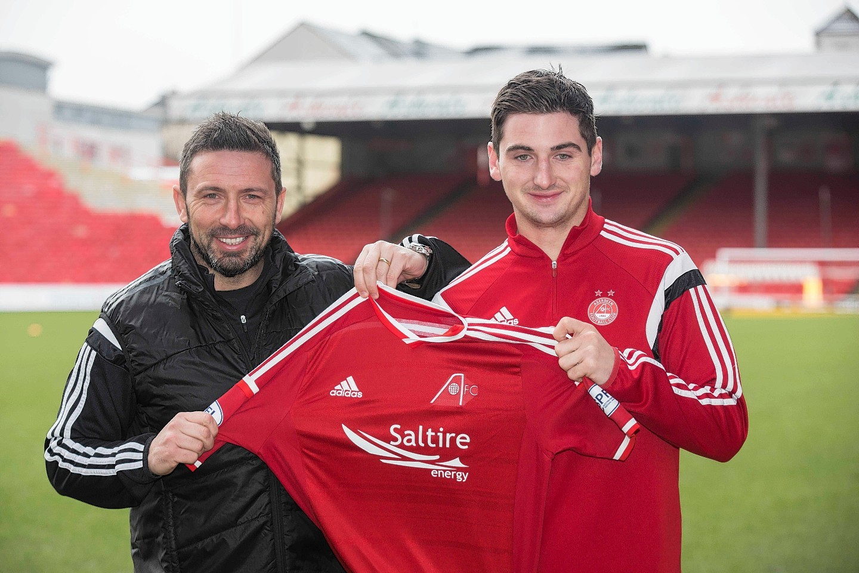 Derek McInnes signed Kenny McLean from St Mirren two years ago.