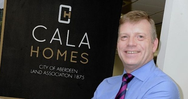Mike Naysmith from Cala Homes believes the council decision is a huge step forward for the project.