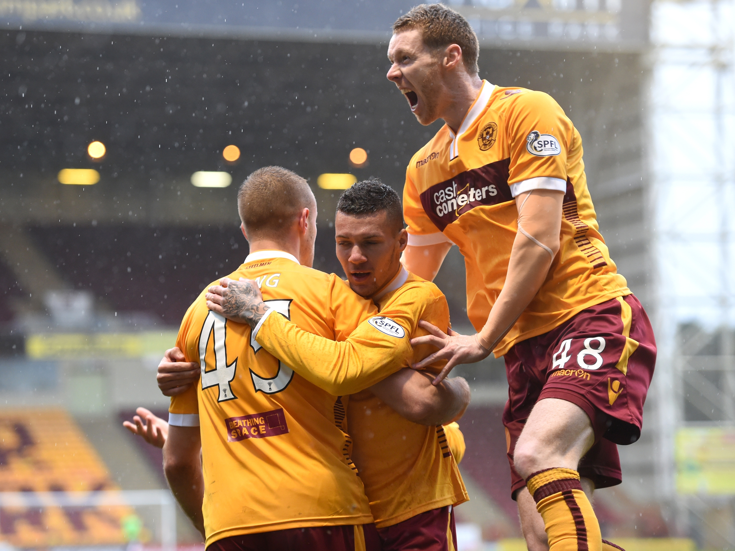 Stephen Pearson looks likely to leave Motherwell