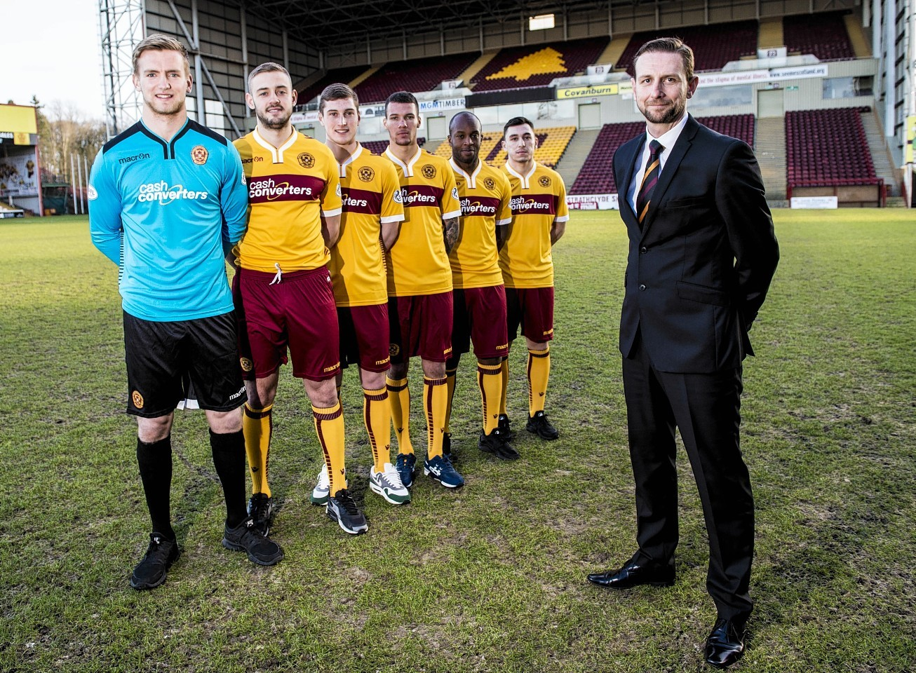 Manager Ian Baraclough has added George Long, Louis Laing, Conor Grant, Marvin Johnson, Anthony Straker and Nathan Thomas to his Motherwell squad