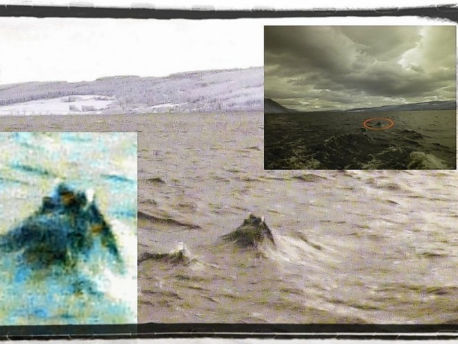 These Nessie pictures were taken last year. Has she sent out the signal?!