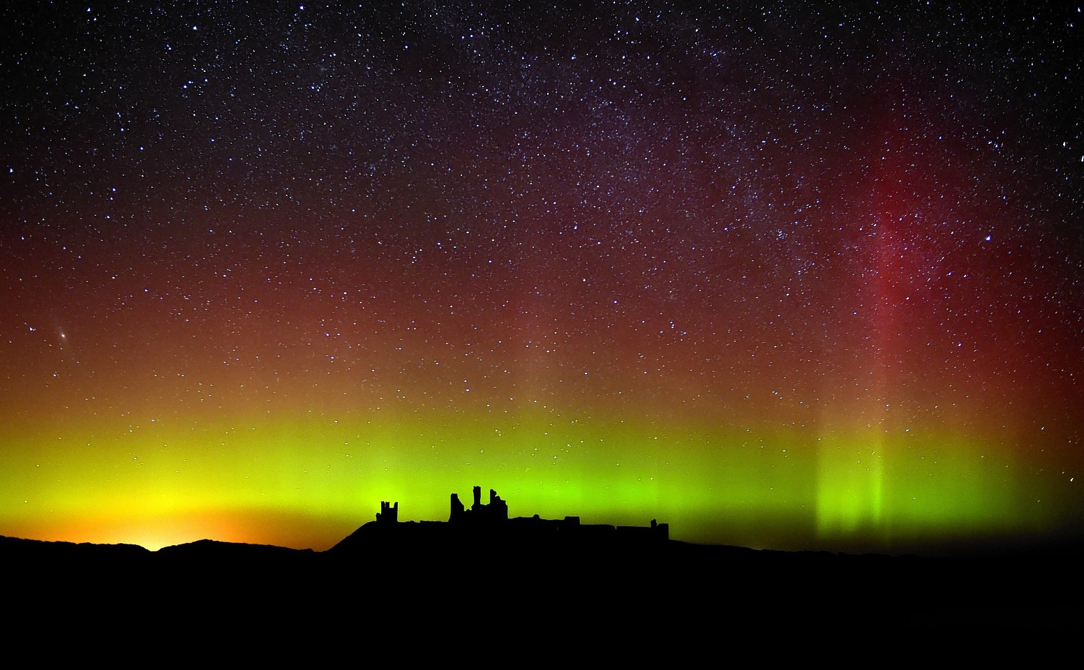 The Northern Lights will be visible from some parts of the UK this evening