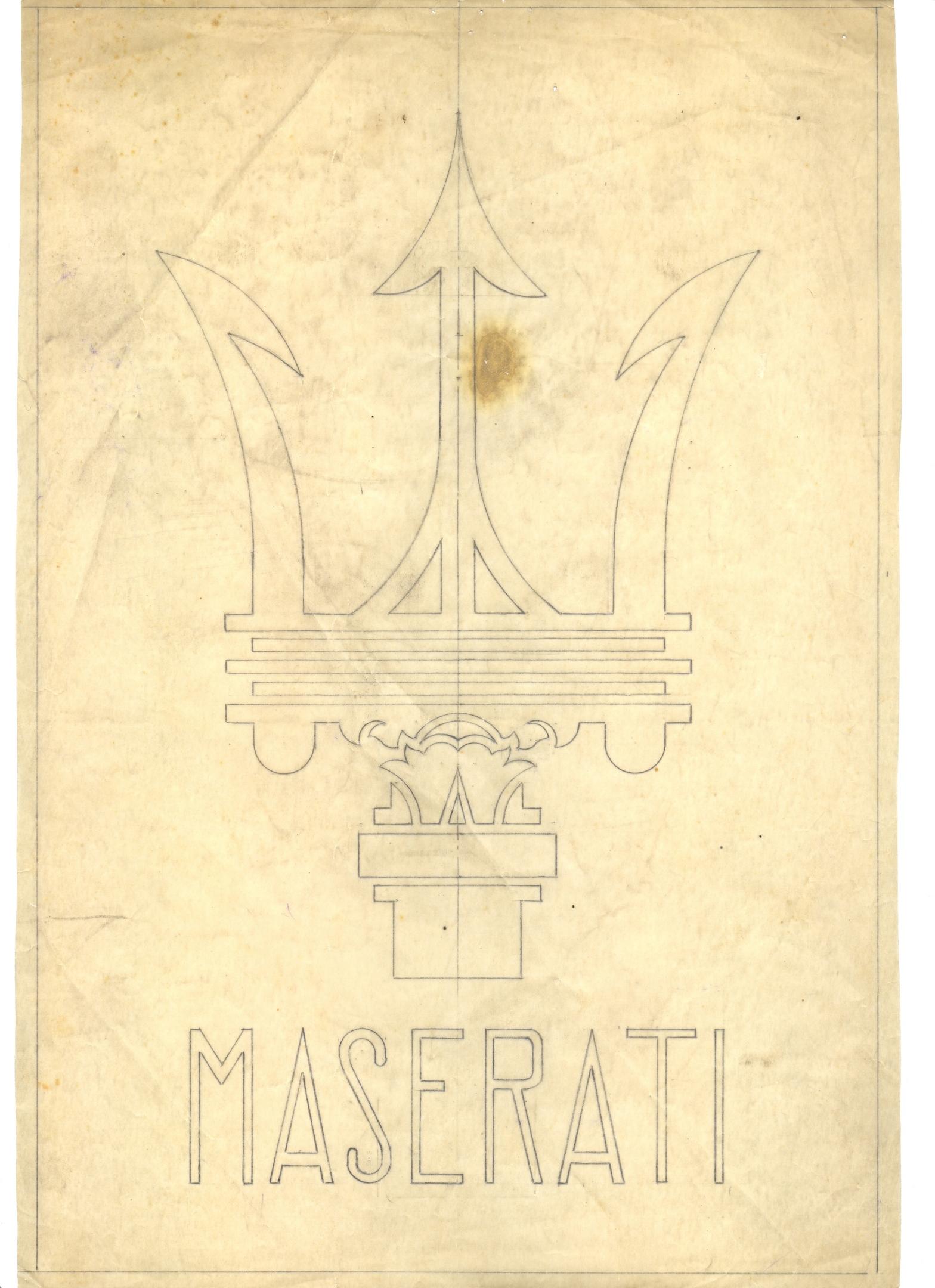 Original trident logo