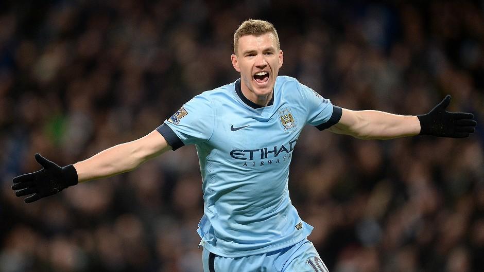 Edin Dzeko could be leaving Manchester this summer