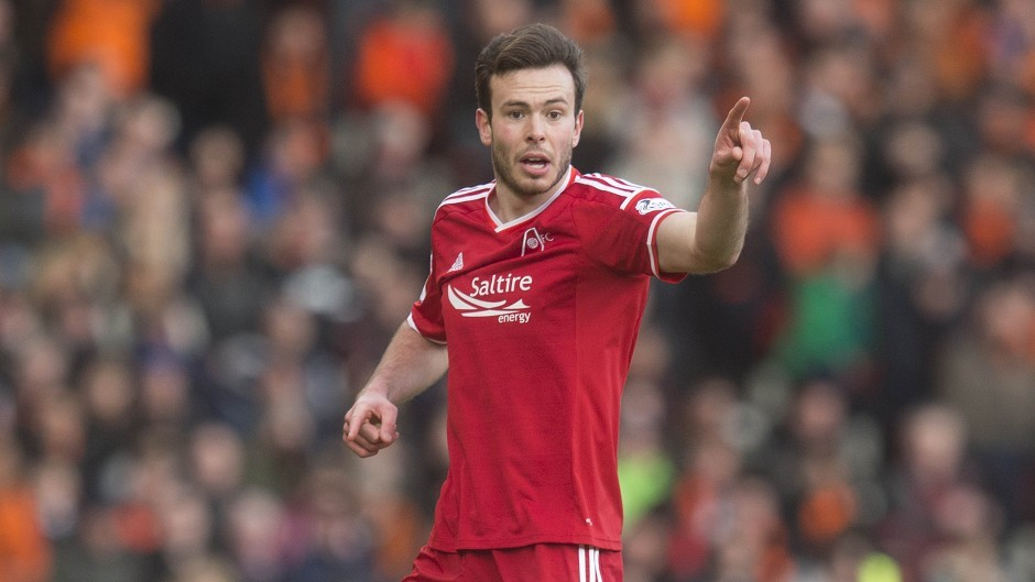 Andrew Considine:  The Dons defender is relishing the return of Rangers to the top flight.