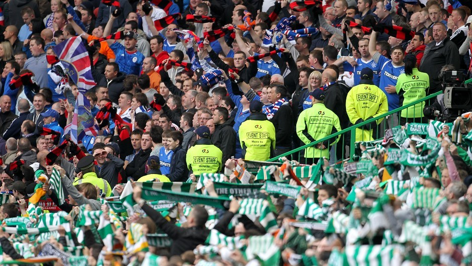 The League Cup semi-final was the first Old Firm game in almost three years