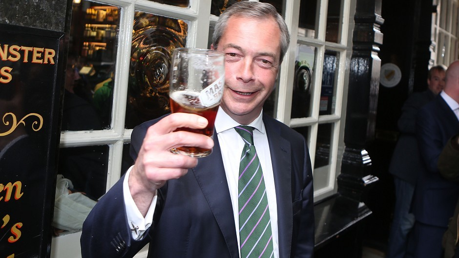 The UKIP leader could be on his way out