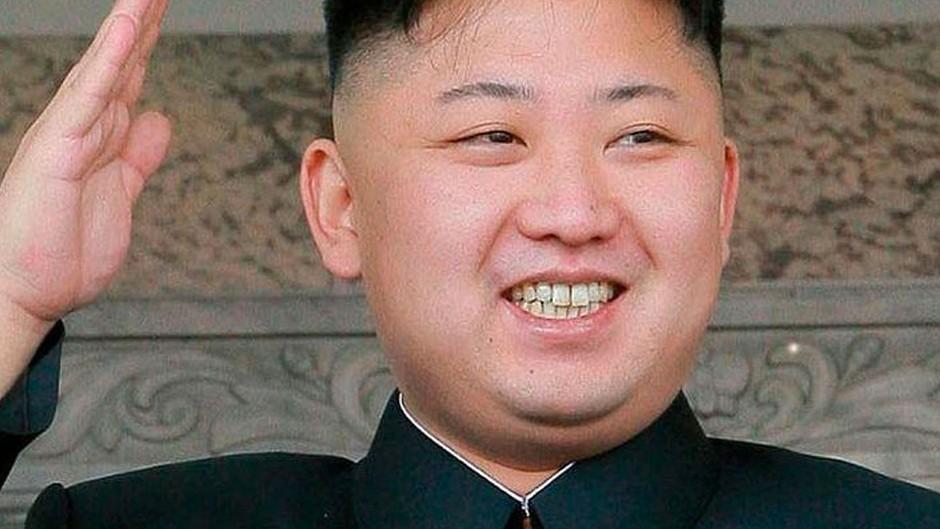 Kim Jong-un leader of the 'Democratic People's Republic of Korea'