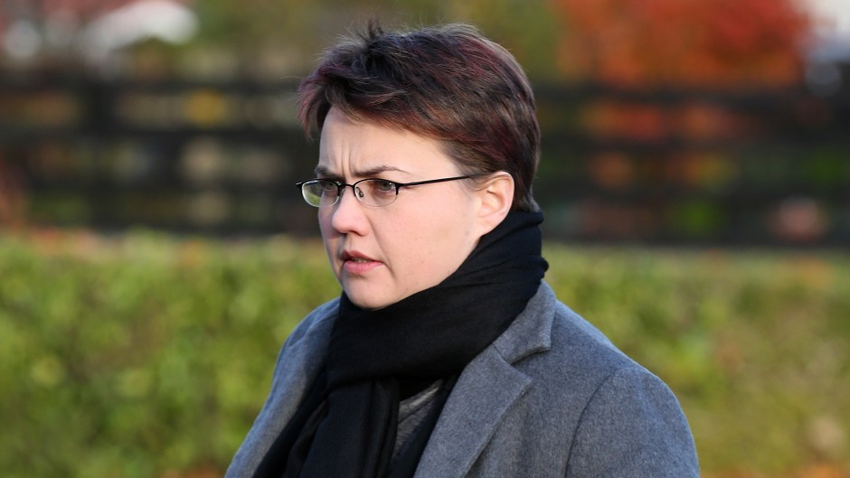 Scottish Tory leader Ruth Davidson warned that land reform could threaten food production.