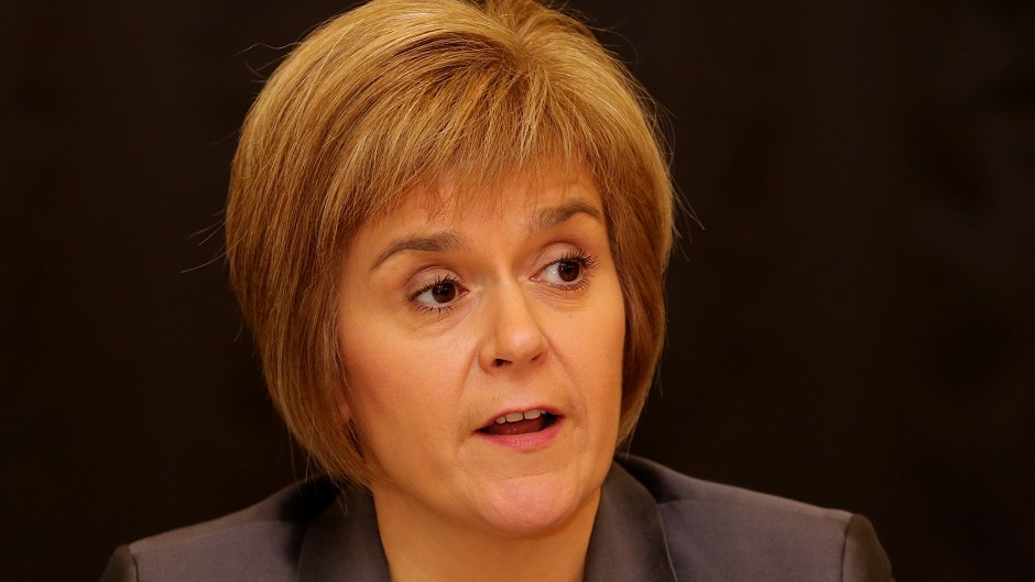 """First Minister Nicola Sturgeon has called for the UK Government to introduce an """"exploration tax credit"""" to encourage more investment in the North Sea."""