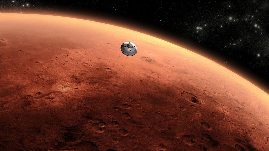 The discovery may mean there is life on Mars
