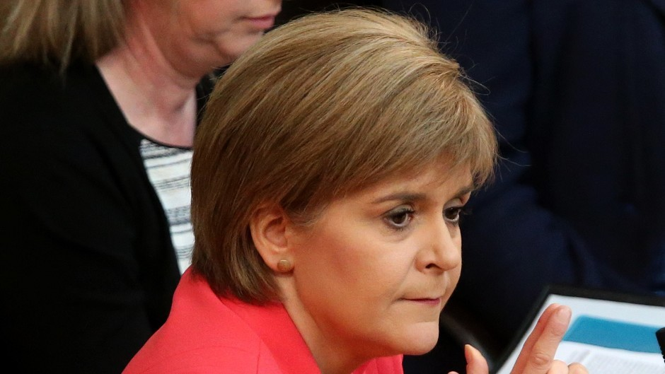 Sturgeon accepts the low oil prices is a challenge