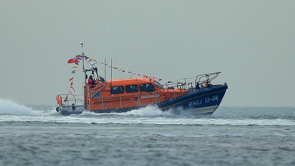 The Tobermorey lifeboat has been called