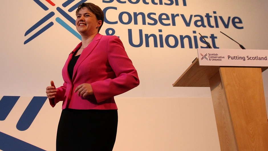 "Ruth Davidson said claims by opponents that Tories only look after their own are ""utter nonsense""."