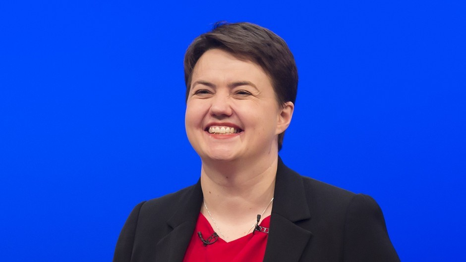 Scottish Conservative leader Ruth Davidson is appealing to disenchanted Labour and Lib Dem supporters.