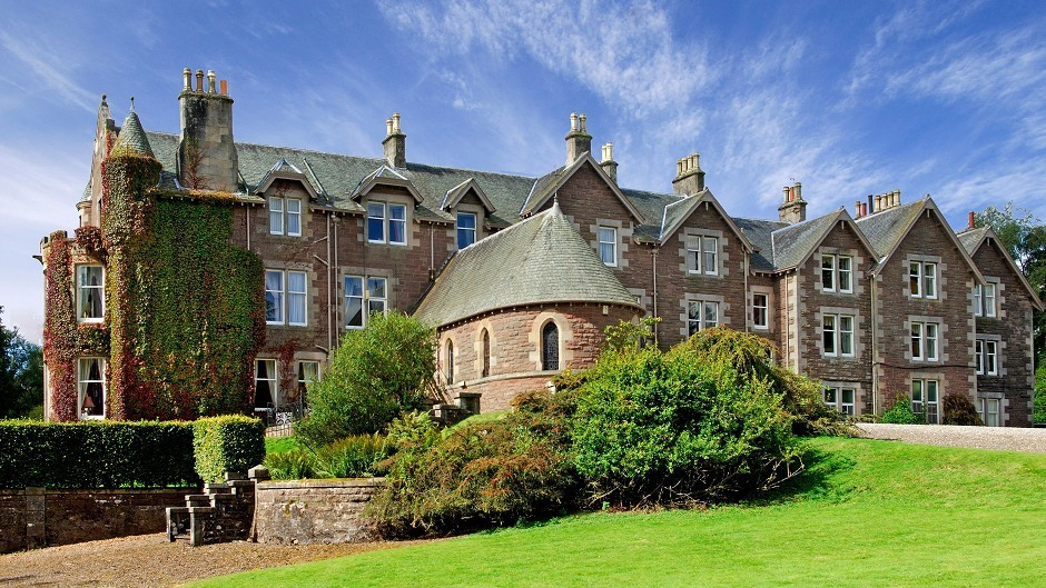 Andy Murray's luxury hotel Cromlix House, where he is to marry Kim Sears
