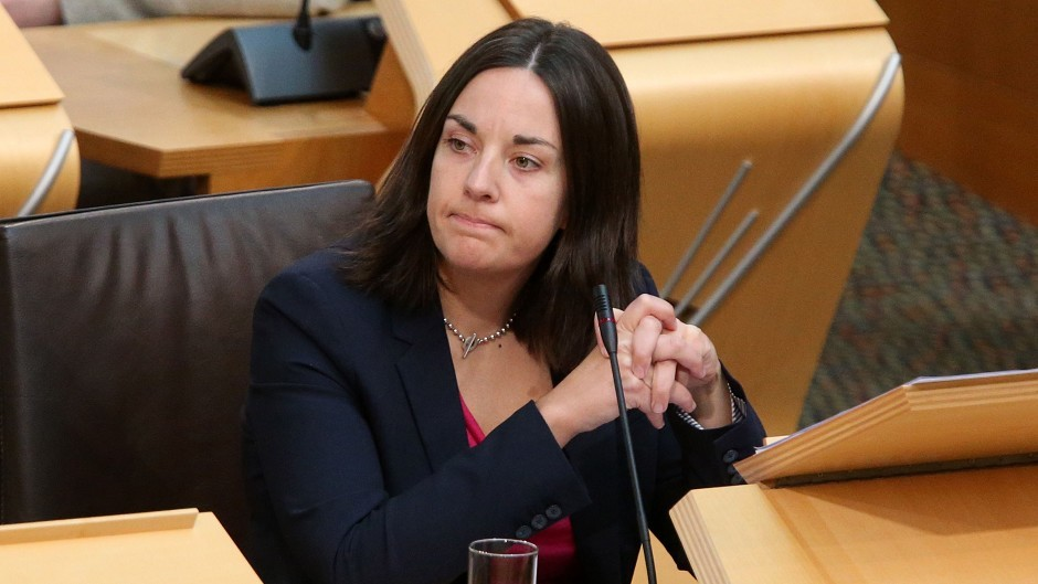 Kezia Dugdale announced she plans to stand for Scottish Labour leader.