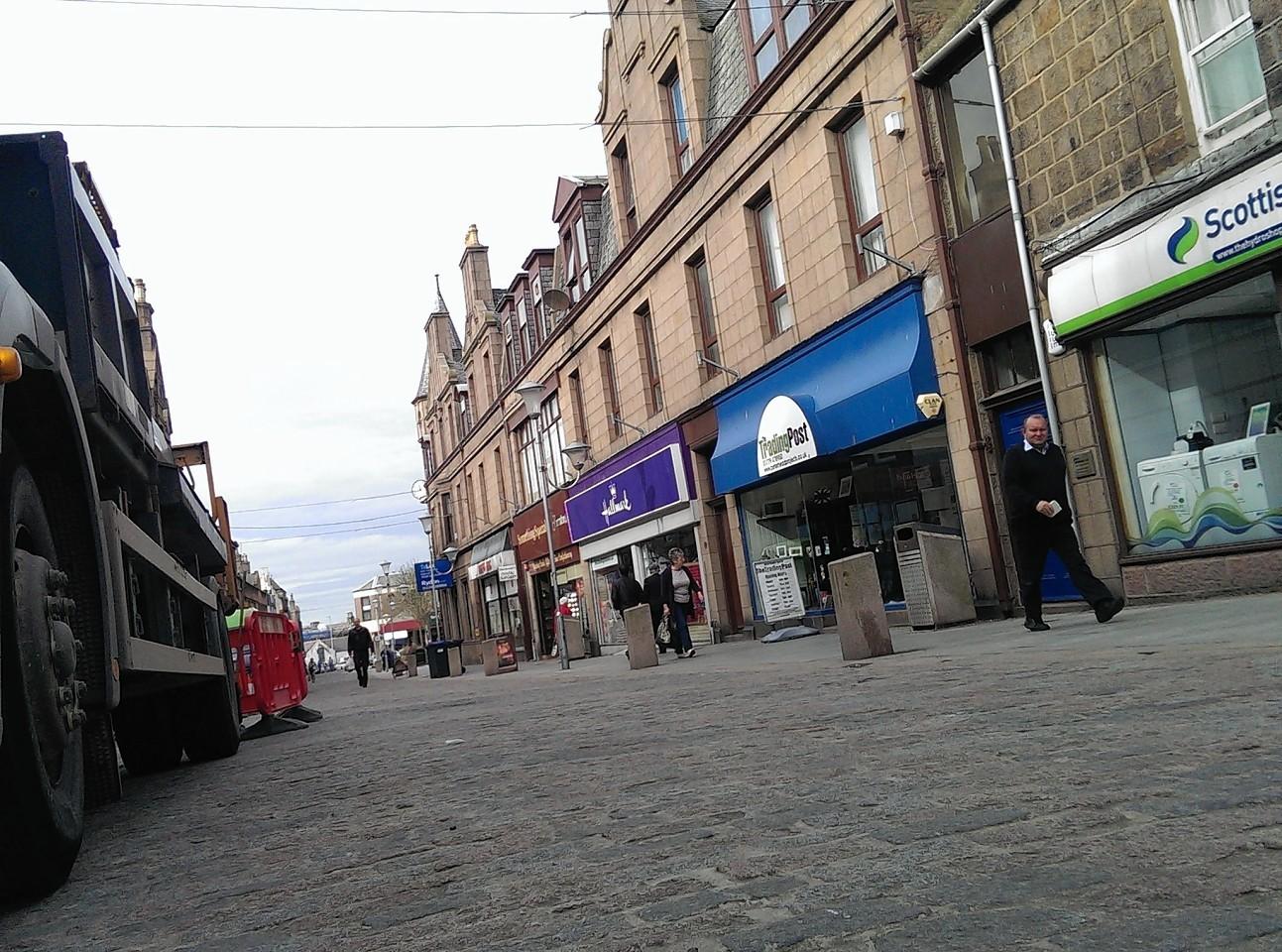 Peterhead's Marischal Street