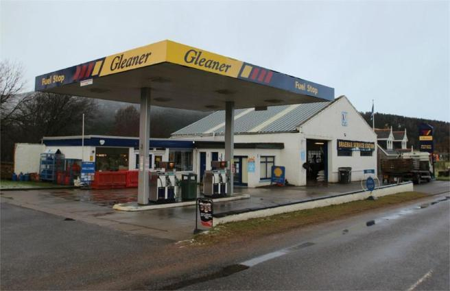 Braemar service station is for sale