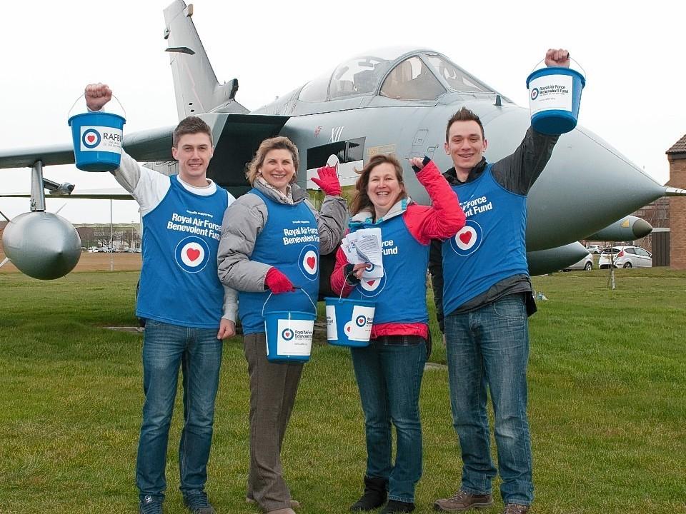 The RAF Benevolent Fund are behind the new challenge