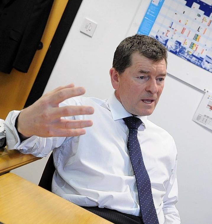 Former NHS Grampian chief executive Richard Carey