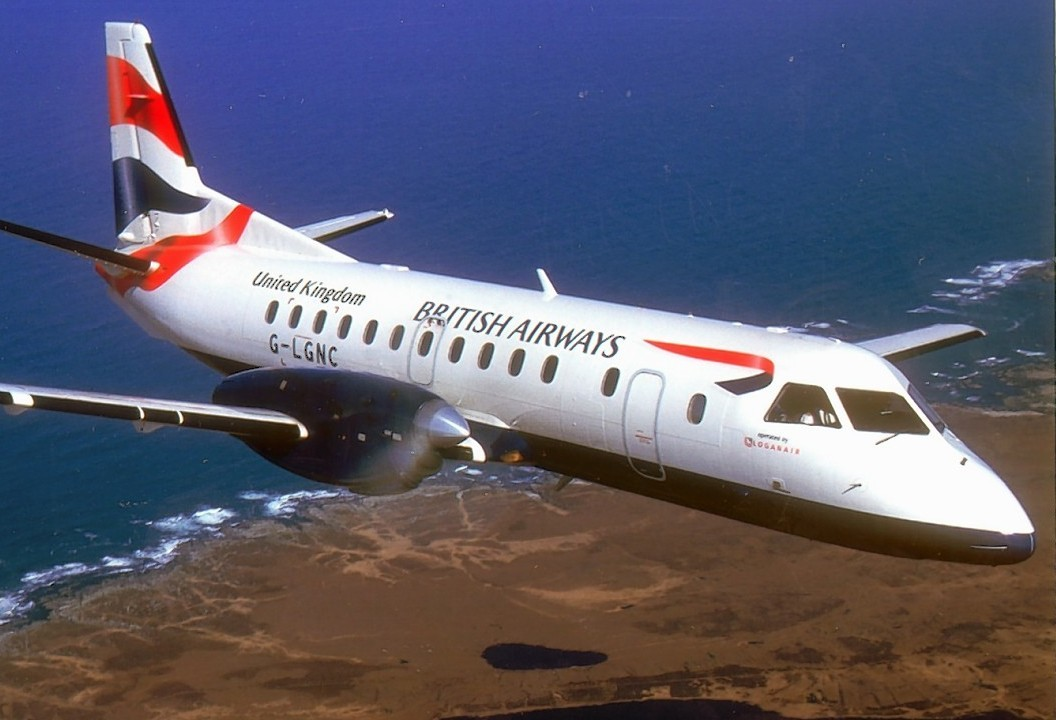 A Saab 340 plane was involved in one of the two incidents.