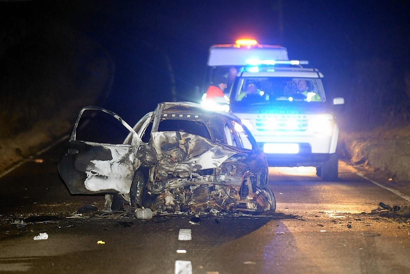 South Deeside Road crash