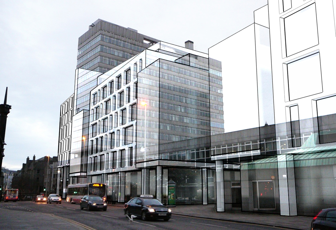 Protestors against Marischal Square release another image showing scale of development