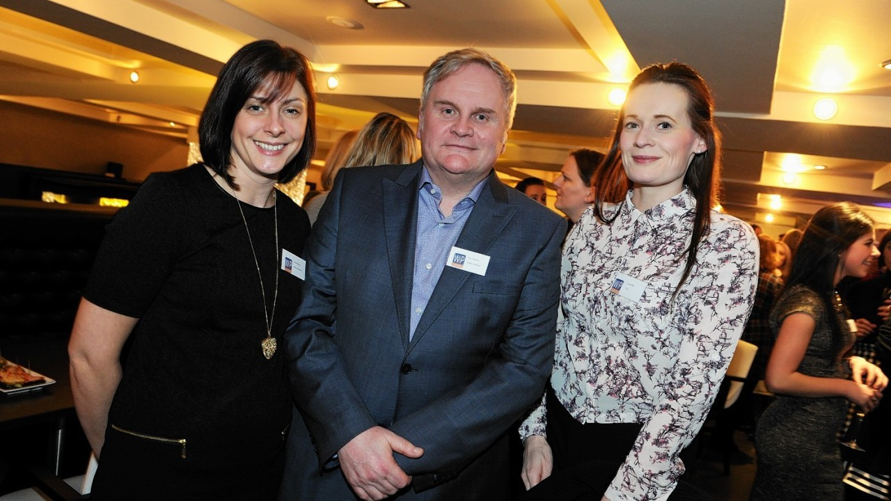 Nicola Ewen, Ron Murray and Lynn Bell
