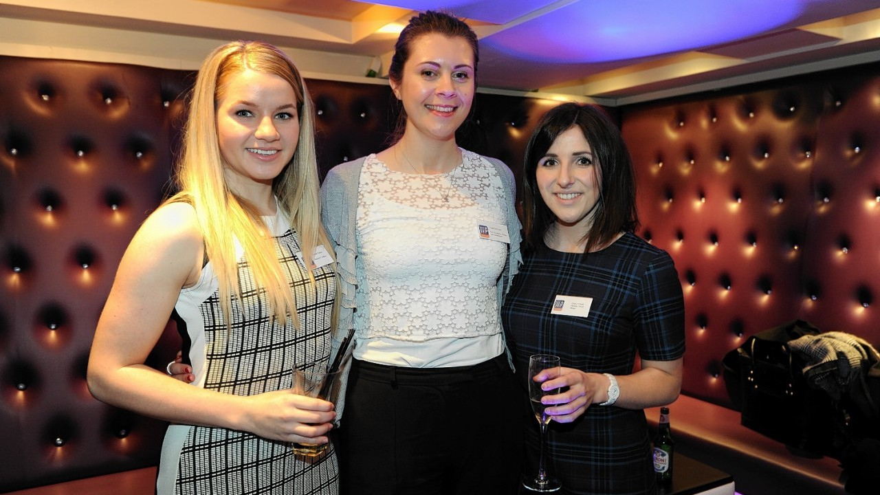 Kirsteen Watson, Tanith McKenzie and Claire ONeil